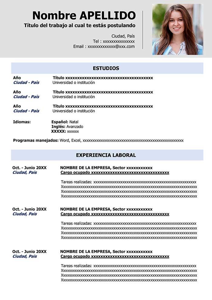 curriculum-vitae-espanol